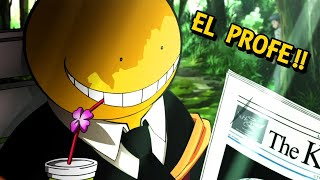 🔶EL PROFESOR PULPO !! | Assassination classroom