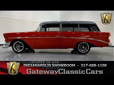 1956 Chevrolet 210 Handyman Wagon- Gateway Classic Cars Indianapolis -254 NDY
