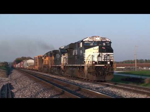 Tour of Norfolk Southern-10 (Lafayette District) HD 1080p