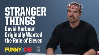 Stranger Things' David Harbour Originally Wanted the Role of Eleven