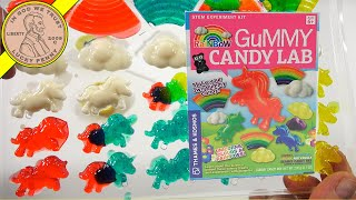 Rainbow Gummy Candy Lab Parents Demonstration