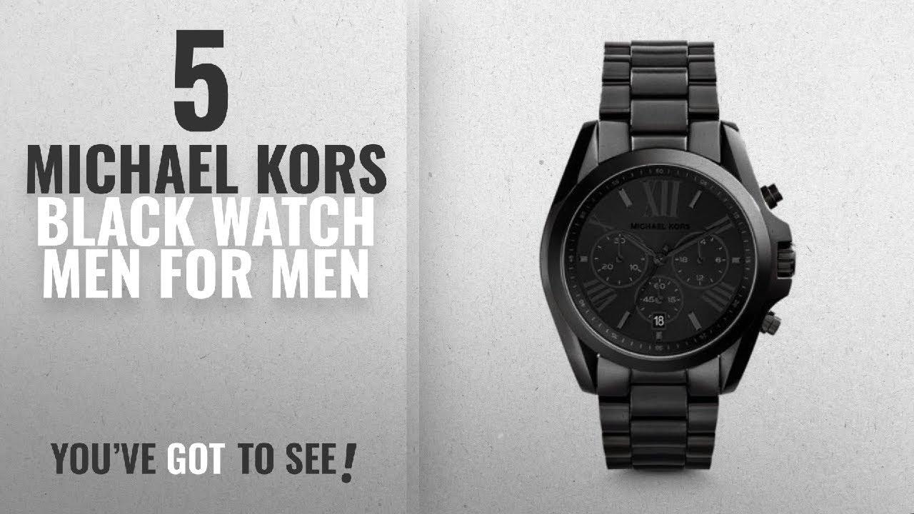 f6720cb49 Top 10 Michael Kors Black Watch Men [2018 ] | New & Popular 2018 ...