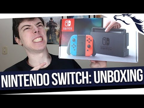 UNBOXING! Nintendo Switch Neon 32GB [PT-BR]