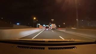 阪神高速信濃橋入口から阪神高速8号京都線山科まで(等倍)