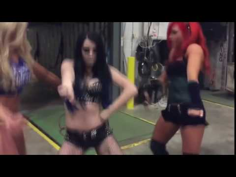 PAIGE DANCING TO...NIKKI BELLA THEME SONG!!!