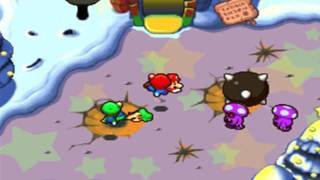 Mario & Luigi Partners in Time: Boss Fight 2 (Shroobs)