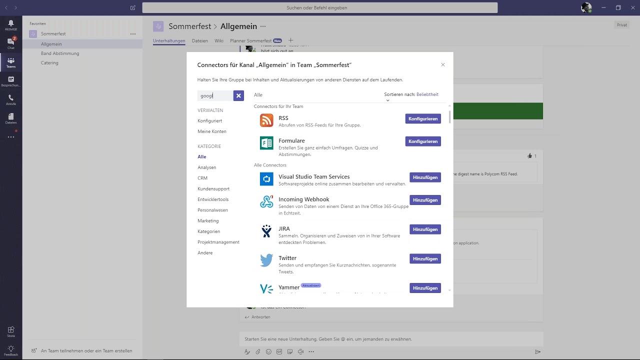 Microsoft Teams Teil 3/7 - Kommunikation mit Extern (German)