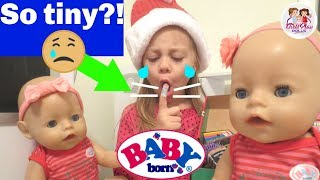 ✂️Ouch! 😥 BABY BORN TWINS' Sister Gets A BAD PAPERCUT! 👶🏼👶🏼 Day 6 - Baby Born Advent Calendar🌲
