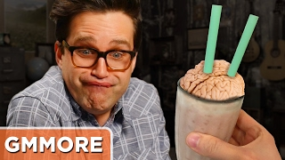 Pork Brain Smoothie Taste Test