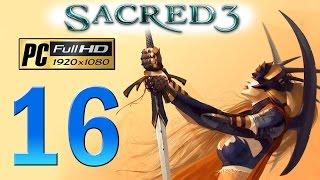 Sacred 3 PC Walkthrough - Part 16 DLC Pillar Of The Fallen / Legend Difficulty / Gameplay 1080p