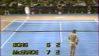 Borg vs McEnroe - Semi Final Master Cup 1979