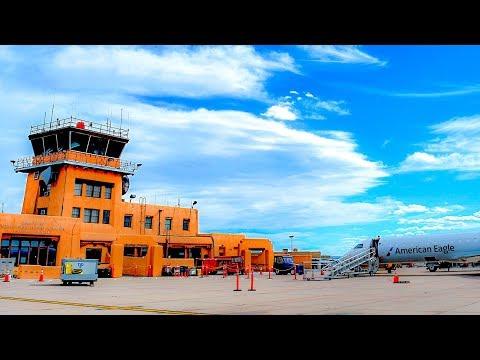 Flying American Eagle From Santa Fe To Dallas Fort Worth International