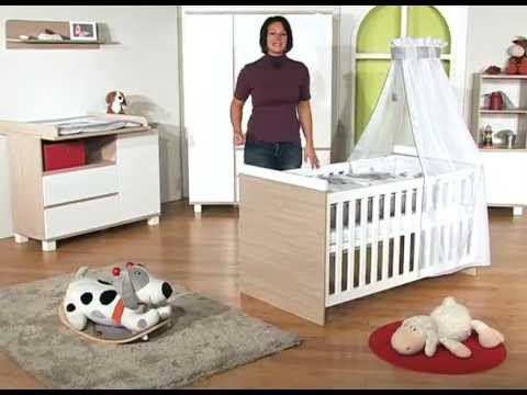 roba kinderzimmer genova 3 tlg youtube. Black Bedroom Furniture Sets. Home Design Ideas