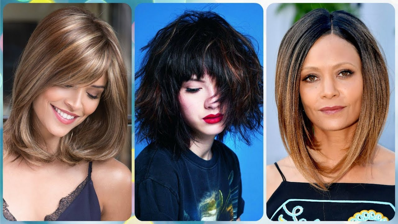 Die Coole 20 Ideen Zu Frisuren Damen Bob Mittellang 2019 Youtube