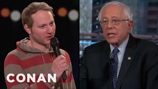 Bernie Bros Were Out In Force At Bernie Sanders' Fox News Town Hall - CONAN on TBS