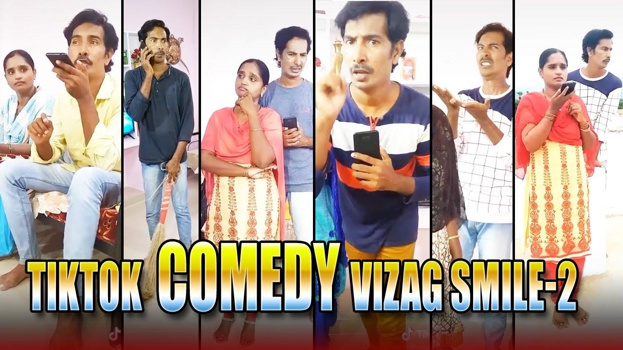Download Telugu Tiktok comedy, Tiktok telugu funny | Ultimate comedy Videos | Vizag Smile PART2 | T24Media