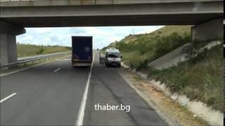 Bulgar trafik memurunun Türk TIR sürücüsünden rüşvet istediği video sanal aleme düştü