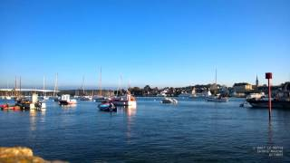 Bretagne - Benodet depuis Sainte-Marine en octobre