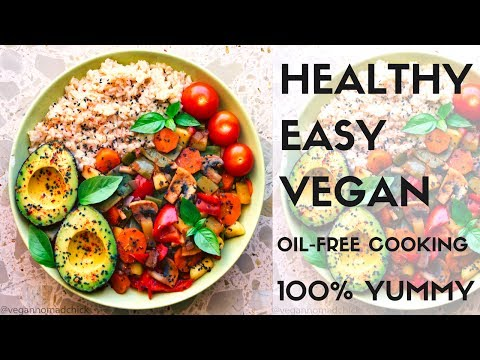 How To Cook Veggies WITHOUT OIL || How to Cook Brown Rice