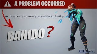 I TOOK BAN ON FORTNITE BECAUSE OF THE SKIN CHANGER?