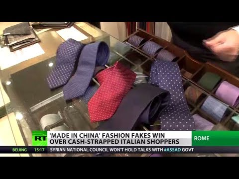 Fashion Fakes: Cheap Chinese clothes force Italian brands out