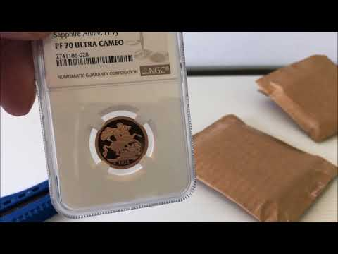 Gold Sovereign Unboxing (1/3)