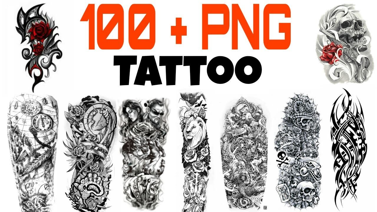 Download all Tattoo png images - YouTube