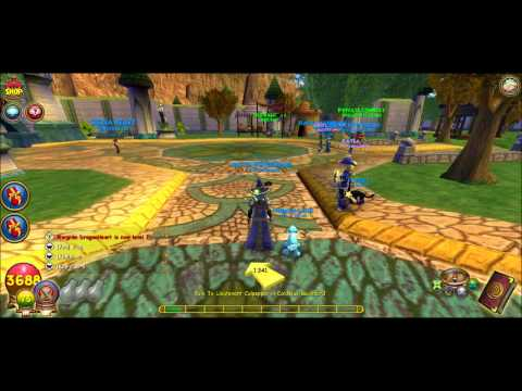 203e1f4b092 Wizard101-Getting Commander Robe Meet  Greet Info (sorry for bad ...