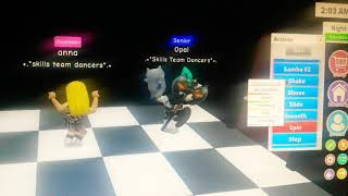 Loving caliber-let me go (roblox dancing vid) ft. League of puppies