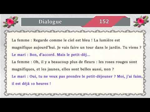 parler le français oralement et couramment avec 163 dialogue en français facile