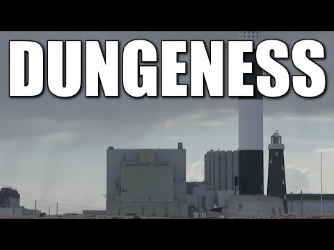 Dungeness in Kent - English sea fishing marks, South East Coast, England, Britain, UK
