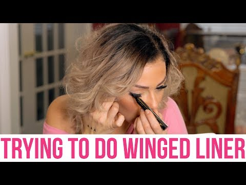 JWOWW REACTS TO HOW EASY IT IS TO CURE WINGED EYE WOES | WITH THE QUICK FLICK