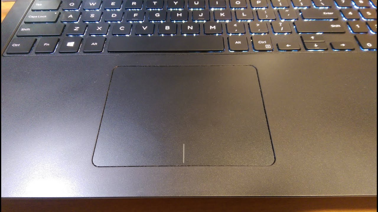 How To Turn On/Off Touchpad Scroll - Dell