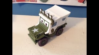 Disney Cars Sarge with Roof Lights (Holiday Sarge) Review