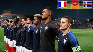 FRANCE vs ICELAND 11 October 2018 | International Friendly | Gameplay