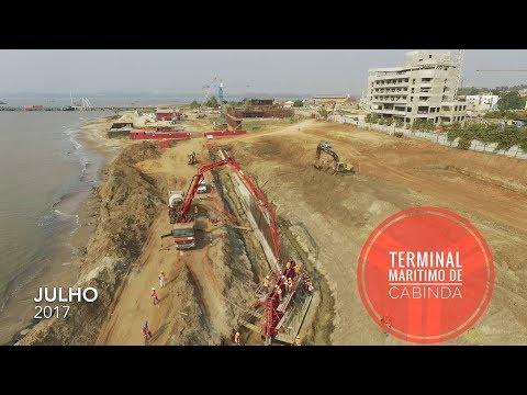 Terminal Marítimo de Cabinda - Tecnovia Angola [Julho 2017]
