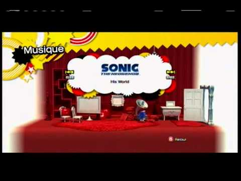 Sonic Generations All Unlockables Songs