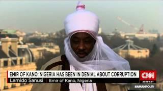 Emir Sanusi Lamido Sanusi II on Amanpour show