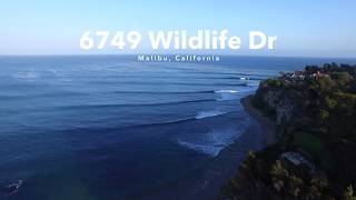 6749 Wildlife Dr. Malibu, CA - Point Dume Real Estate