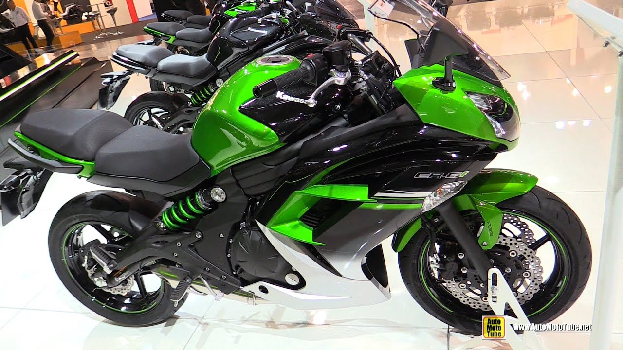 2016 kawasaki er6f walkaround 2015 eicma milan youtube. Black Bedroom Furniture Sets. Home Design Ideas