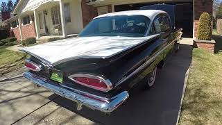 First start for 2018 and ride in the 1959 Chevrolet Bel Air My First Car!