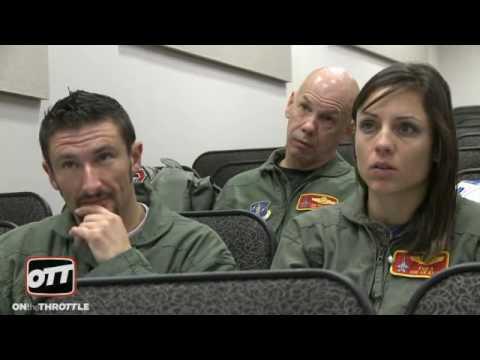 Josh Hayes and Melissa Paris go ballistic in the F-16