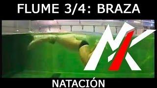 CANAL DE FLUJO (FLUME) 3/4: Braza / Pecho (Breaststroke)