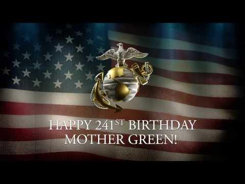 241st Birthday Salute to United States Marine Corps