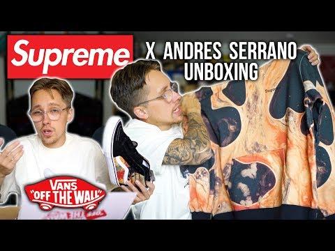 SUPREME x VANS UNBOXING | SUPREME x ANDRES SERRANO COLLAB