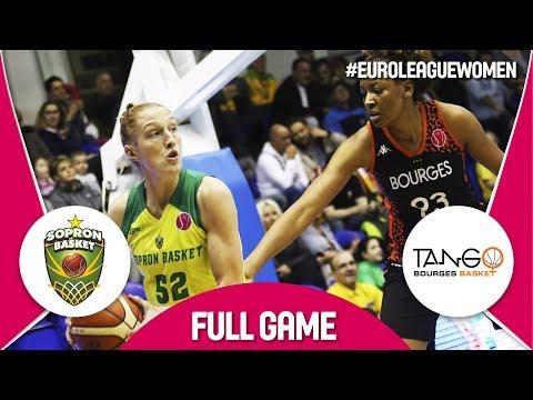 LIVE🔴 - Sopron Basket (HUN) v Bourges Basket (FRA) - EuroLeague Women 2017-18