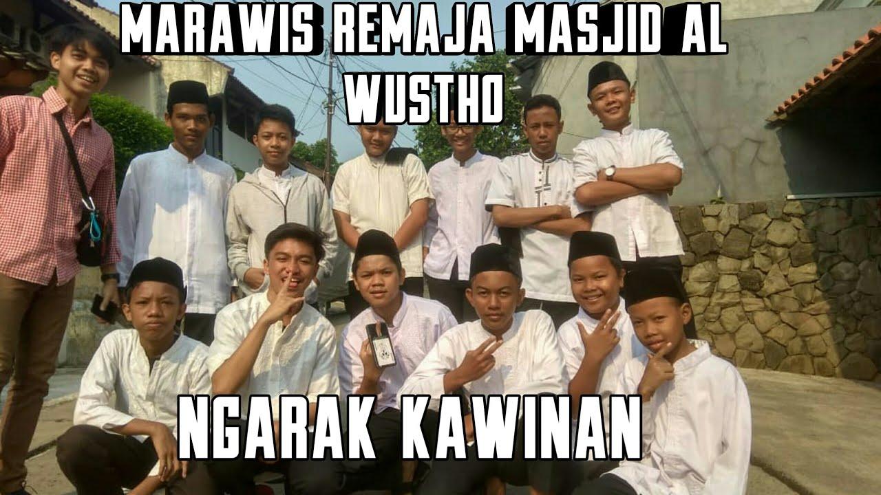 Marawis Remaja Al Wustho Ngarak kawinan