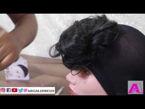 how-to-make-wig-with-lace-closure-in-20-minutes-|-applying-lace-front-wigs-without-glue-or-tape