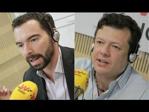 Andrés Villamizar y Hollman Morris en La W con Vicky Dávila