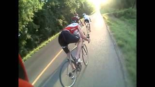 Road bike crash at 34mph (almost)